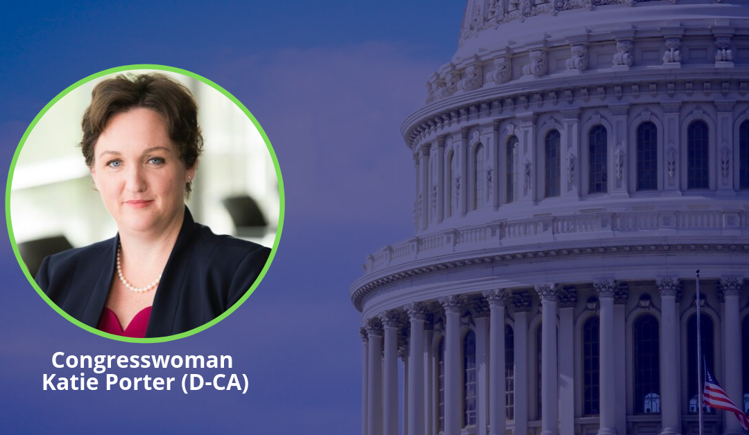 Congresswoman Katie Porter to Speak at #NEXTDC19