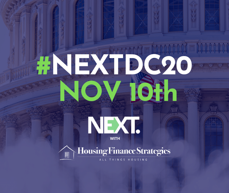 TOP HOUSING OFFICIALS AND EXECS TO SPEAK AT #NEXTDC20