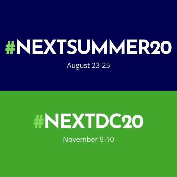 NEXT launches remaining 2020 events as free virtual events