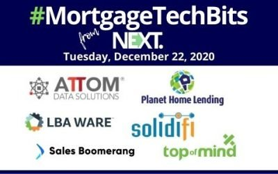 #MortgageTechBits: Borrowers like digital but still want in-person closings; News from Planet Home, Solidifi, ATTOM Data Solutions, Sales Boomerang, LBA Ware