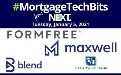 #MortgageTechBits: Maxwell shares lender survey insights; FormFree rebrands for lending inclusivity; Fifth Third chooses Blend